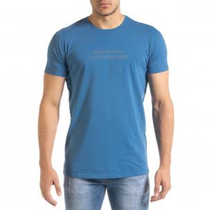 Tricou bărbați Lagos albastru