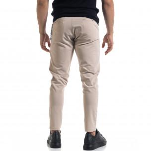 Pantaloni bărbați Open bej 2