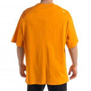 Tricou bărbați SAW orange  2