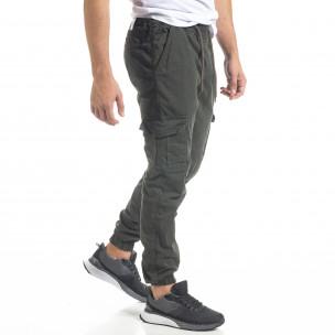 Pantaloni cargo bărbați Blackzi verzi Blackzi