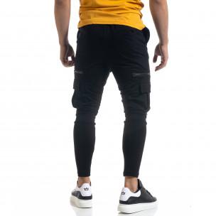 Cargo pantaloni sport bărbați Vae Victis negru  2