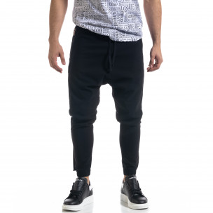 Pantaloni bărbați Open negri 2