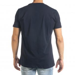 Tricou bărbați Freefly albastru  2