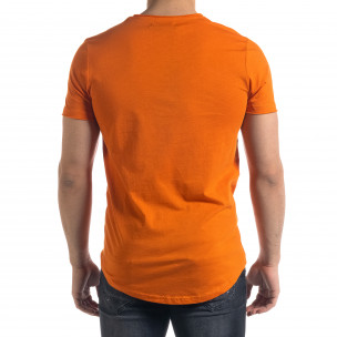 Tricou bărbați Clang orange  2