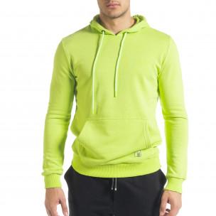 Hanorac bărbați Breezy verde