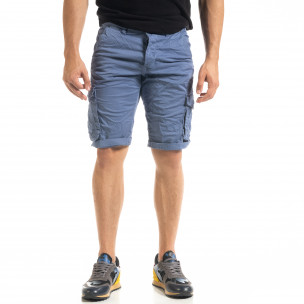 Pantaloni scurți bărbați Blackzi albaștri