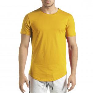 Tricou bărbați Clang galben