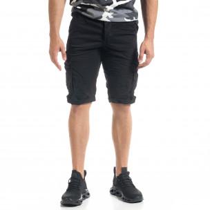 Pantaloni scurți bărbați Blackzi negri  2
