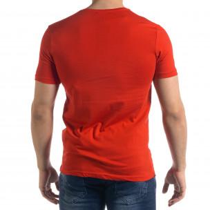 Tricou bărbați Breezy roșu  2