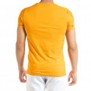 Tricou bărbați Lagos orange 2