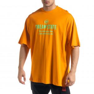 Tricou bărbați SAW orange