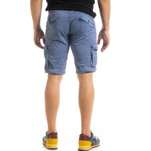 Pantaloni scurți bărbați Blackzi albaștri  2