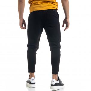 Pantaloni sport bărbați Open negru  2