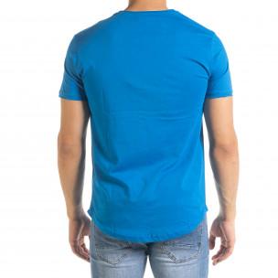 Tricou bărbați Clang albastru  2