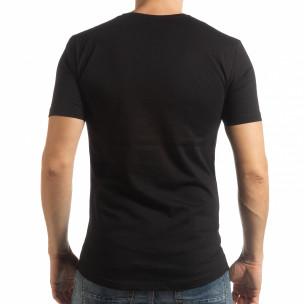 Tricou negru To-Go pentru bărbați  2