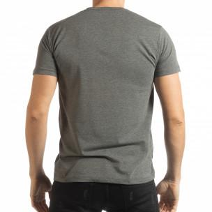 Tricou gri Originals pentru bărbați  2