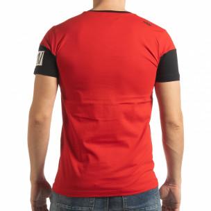 Tricou roșu Money pentru bărbați  2