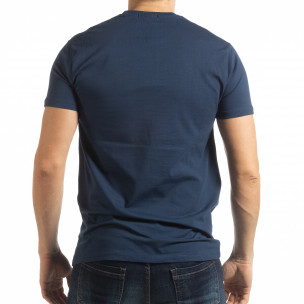 Tricou albastru Originals pentru bărbați  2