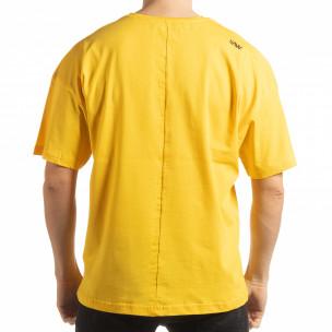 Tricou galben Imagination pentru  bărbați  2