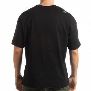 Tricou negru Imagination pentru  bărbați  2