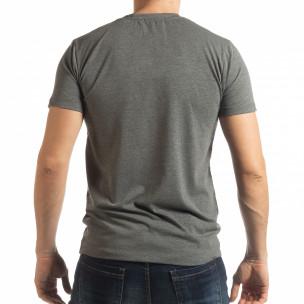 Tricou gri Ocean Racing pentru bărbați  2