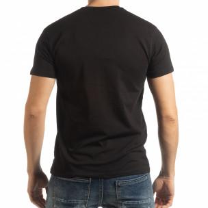 Tricou pentru bărbați Denim Company în negru  2