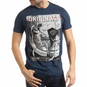 Tricou albastru Originals pentru bărbați