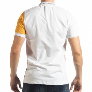 Tricou cu guler WBY Marine style pentru bărbați  2