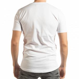 Tricou alb To-Go pentru bărbați  2