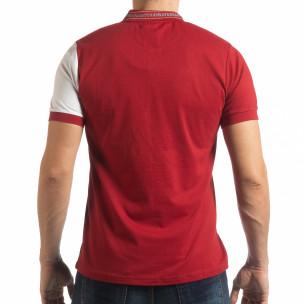 Tricou cu guler RBW Marine style pentru bărbați  2