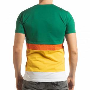 Tricou multicolor pentru bărbați  2