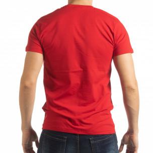 Tricou pentru bărbați Sound roșu  2