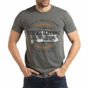 Tricou gri Ocean Racing pentru bărbați