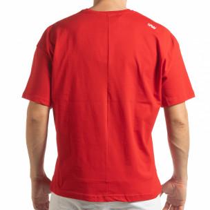 Tricou roșu Imagination pentru  bărbați 2