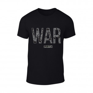 Tricou pentru barbati War negru