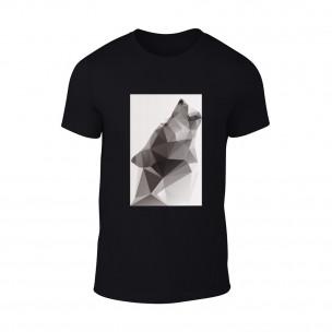 Tricou pentru barbati Wolf 2 negru