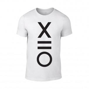 Tricou pentru barbati XO alb